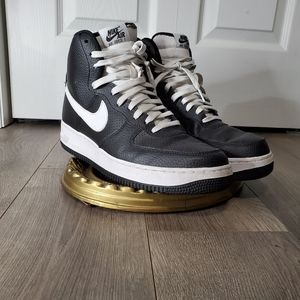 Nike Air Force 1 AF1 07 High Black/White Size 9